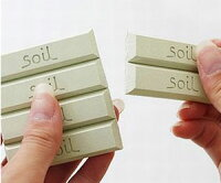 soilソイル珪藻土ドライングブロックミニ【メール便送料無料】調湿材乾燥剤吸湿剤キッチン小物