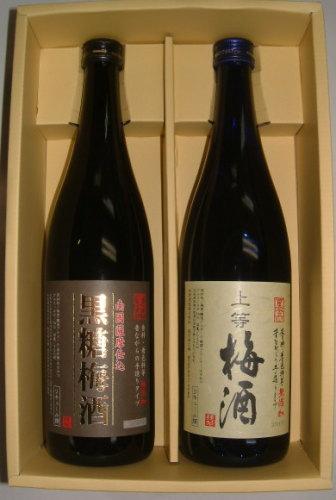ロックが旨い本格梅酒2本ギフトセット※離島・沖縄...の商品画像