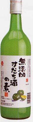 【酢橘】無添加すだち酒の素 1800ml [1477]の商品画像