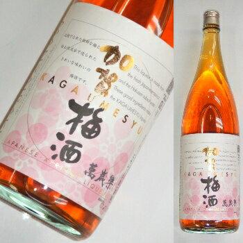 加賀梅酒 1800mlの商品画像