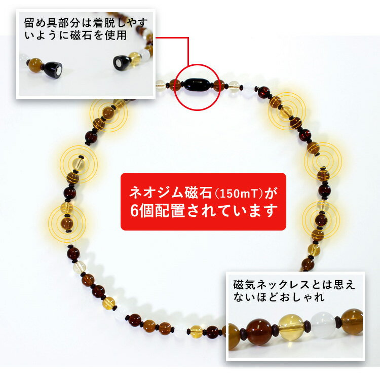 送料無料 磁気ネックレス MIONO 医療機器...の紹介画像3