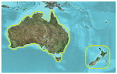 TOPO Australia and New Zealand DVD (トポオーストラリア&ニュージーランド DVD)GARMIN(ガーミン)