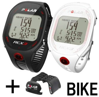 ★ POLAR ( polar ) RCX3 BIKE (black/white)