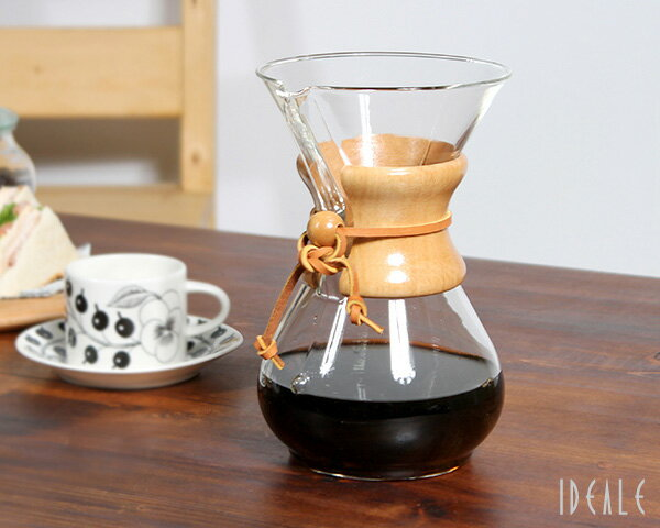 ケメックス CHEMEX コーヒーメーカー 6カップ用 CM-6A 22cm 【ギフト】