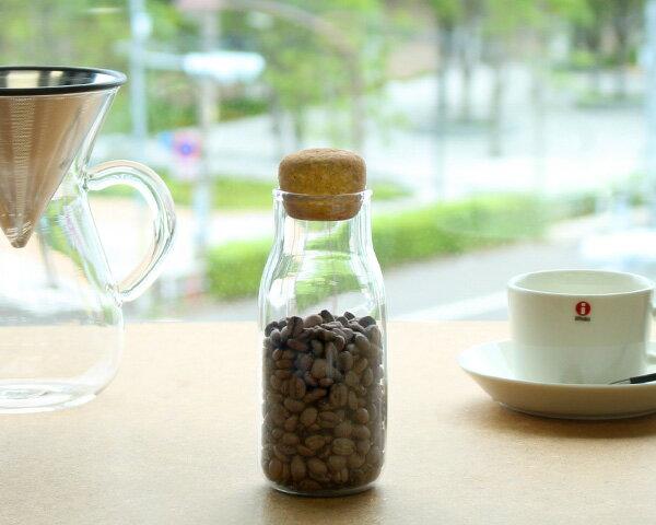 キントー KINTO キャニスター 27681 ボトリット BOTTLIT 300ml 【YDKG-s】【HLS_DU】【RCP】【保存容器 コーヒー豆 ガラス瓶 コルク】