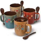 マグカップ4個セット ミスターコーヒー Mr. Coffee カフェアメリカーノ 380ml