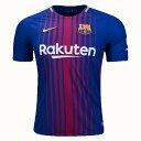 新着 FC バルセロナ 2017/18 ホーム ユニフォーム Home Soccer Jersey RAKUTEN ロゴ入り 8月中旬納品予定