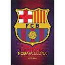 バルセロナ ポスター リーガエスパニョーラ バルサ バルセロナポスター サッカー 【正規オフィシャルグッズ】Barcelona 2013 Crest Poster