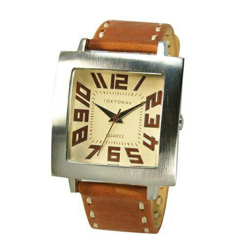 送料無料!! トーキョーベイ TOKYObay レディース メンズ 腕時計 スタンダード アナログウォッチ T105 トラム Tram ナチュラル サンフランシスコ発の レディース メンズ 腕時計 アナログウォッチ
