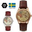 CHEAPO チーポ ヴィンテージワールド メンズ 腕時計 ロジャーシルバー メタル 革ベルト アナログ 北欧ブランド 国内正規品 あす楽