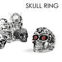 スカル リング skull ring ドクロ 指輪 アクセサリー メンズ