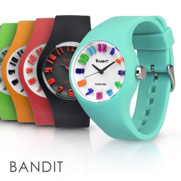 メンズ レディース 腕時計 バンディット 3Dインデックス アナログ スポーツウォッチ シ…...:idealstore:10000721