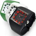 メンズ 腕時計 BANDIT 3D SPROTS SILICONE SQUARE バンディット 3Dスポーツ シリコンスクエア