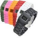 メンズ レディース デジタル 腕時計 BANDIT バンディット プラスチック ウォッチ LEGOみたいでユニーク あす楽