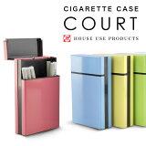 【シガレットケース】 COURT コート 13P タバコケース 可愛い アルミ タバコ入れ 大人気 メール便可 あす楽