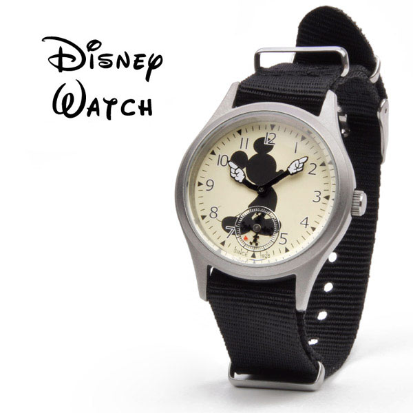 メンズ 腕時計 ミッキーマウス ディズニーウォッチ NATOベルト DM02 送料無料 あす楽