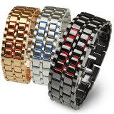 メンズ デジタル 腕時計 LEDブレスレット メール便送料無料 あす楽