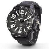 メンズ 腕時計 IDEALTIME イデアルタイム ビッグフェイス 3D INDEX アナログ 時計 おしゃれ ラバーベルト あす楽