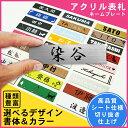 【屋外対応ネームプレート】【メール便送料無料】<長方形> 表...