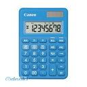 キヤノン CANON LS-80TU-BL カラフル電卓 80TU ブルー LS80TUBL