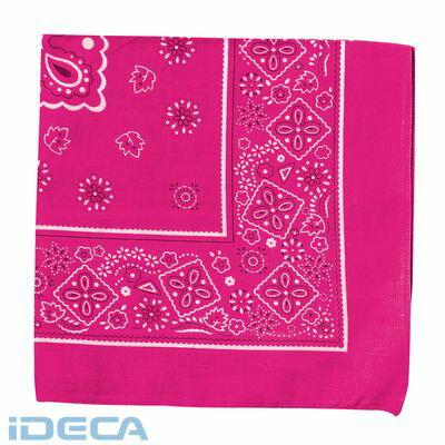 CS89903 バンダナ 蛍光ピンクの商品画像
