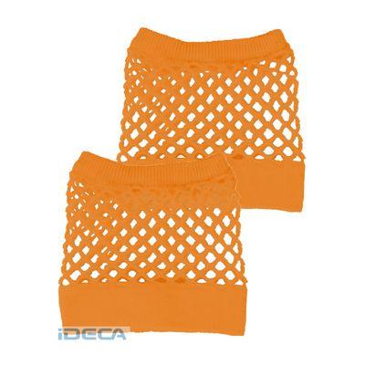 CP36383 カラーメッシュリストバンド オレンジ