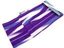 【IDN】 レトロモダン CANOA 矢羽根模様男物浴衣(LLサイズ)(紫)【新品】【着】