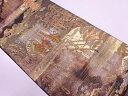 【IDN】 純金箔葵祭風景模様織出し袋帯【リサイクル】【中古】【着】