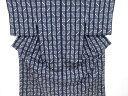 ショッピング琉球 【IDnet】 本場琉球絣手織り紬着物【リサイクル】【中古】【着】
