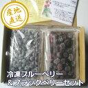 冷凍ブルーベリー&ブラックベリーセット1kg
