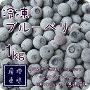 冷凍 ブルーベリー 1kg・500g×2パック 国産 和歌山県産 自家栽培 完熟 冷凍果実 冷凍デザート 冷凍フルーツ スムージー アサイー BlueBerry