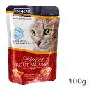 【猫のキャットフード iCat】フードの補助やトッピングに最適なウェットフード嗜好性が高く食欲不振時にも役立つ。