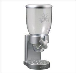 OEF 茶 O.F.T zevro ZevRO 寵物食品飲水機 3.5 L 銀 [禁用]