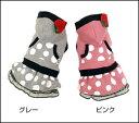苺のワッペンパーカー×水玉スカートのお洒落スウェットワンピでおでかけしましょ♪水玉いちごワンピ/M〜XL・DS〜DLサイズ