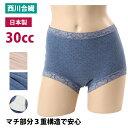 失禁パンツ 女性用 30cc 日本製 ( 婦人 失禁 パンツ 30CC 漏れない 消臭 綿 吸水 sk32044 )