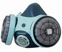 【特価】興研アスベストマスク7121R-02レベル2対応!RD-5フィルターセット済!