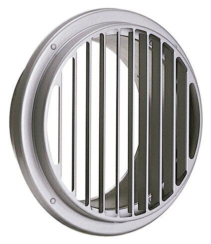 西邦工業 SEIHO ST150GS 外壁用ステンレス製換気口 (ベントキャップ) 薄型 縦ガラリ 低圧損