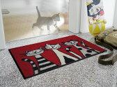 KLEEN TEX wash+dry Animal+Friends G002A Three Cats 50×75cm