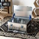 ヒューナーズドルフ Hunersdorff Aluminium Profi Box 48L コンテナボックス 収納 キャンプ アウトドア おしゃれ RVBOX DETAIL