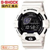 G-SHOCK 電波 ソーラー カシオ Gショック 電波時計 GW-8900A-7JF CASIO ホワイト 白 反転液晶 メンズ 腕時計 【正規品/送料無料】【レビューで3年保証】【あす楽】【在庫あり】