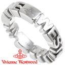 ヴィヴィアンウエストウッド リング 指輪 メンズ レディース Vivienne Westwood ヴィヴィアン ノッティンガムリング シルバー 64040023-W004 【あす楽】【送料無料】