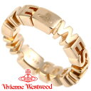 ヴィヴィアンウエストウッド リング 指輪 メンズ レディース Vivienne Westwood ヴィヴィアン ノッティンガムリング ゴールド 64040023-R001 【あす楽】【送料無料】