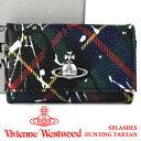 ヴィヴィアンウエストウッド キーケース Vivienne Westwood ヴィヴィアン 6連キーケース レディース メンズ チェック 51020001 SPLASHES HUNTING TARTAN 【お取り寄せ】【送料無料】