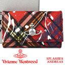 ヴィヴィアンウエストウッド キーケース Vivienne Westwood ヴィヴィアン 6連キーケース レディース メンズ チェック 51020001 SPLASHES ANDREAS 【あす楽】【送料無料】