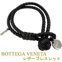 ボッテガ ブレスレット ボッテガヴェネタ 2連ブレスレット BOTTEGA VENETA ブラック 113546-V001D-1000 【02P03Dec16】