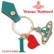 ヴィヴィアンウエストウッド Vivienne Westwood キーホルダー キーリング グリーン 32985 GREEN 【02P26Mar16】