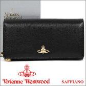 ヴィヴィアン 財布 ヴィヴィアンウエストウッド Vivienne Westwood 長財布 レディース メンズ ブラック 1032V SAFFIANO BLACK 【02P03Dec16】