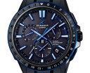 カシオ オシアナス GPSハイブリッド電波ソーラー OCW-G1200B-1AJF CASIO OCEANUS ソーラー 電波時計 GPS クロノグラフ ツーセラミックベゼル 紋紗塗 DLC ブラックチタン メンズ 腕時計