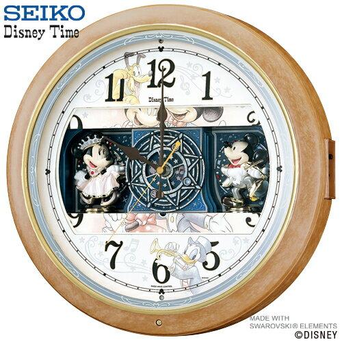【ディズニー 電波 時計 からくり】 FW561A セイコー クロック SEIKO からく…...:iget:10007417