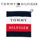トミー ヒルフィガー ゴルフ TOMMY HILFIGER GOLF SQUARE タオル THMG0FM4 【メール便配送】